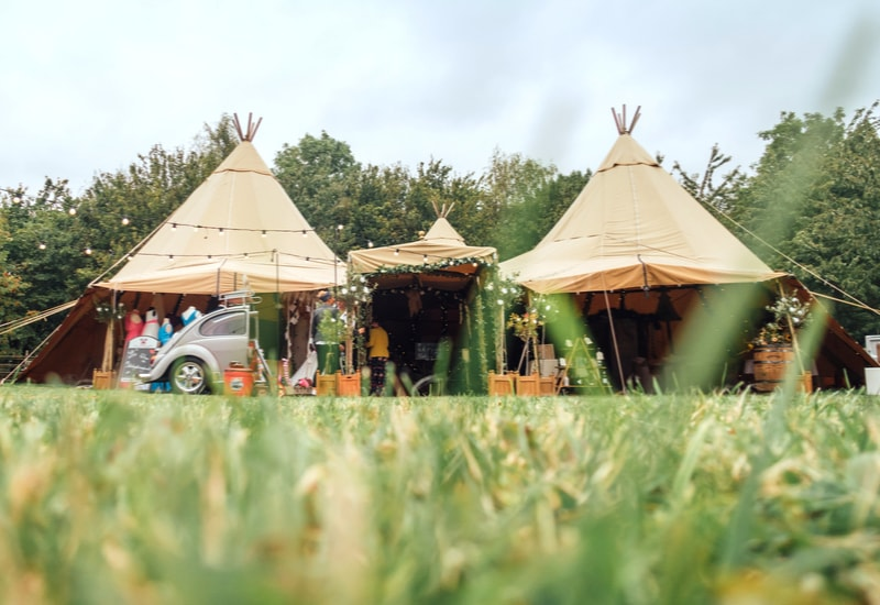 external image of tipi wedding venue in nottingham