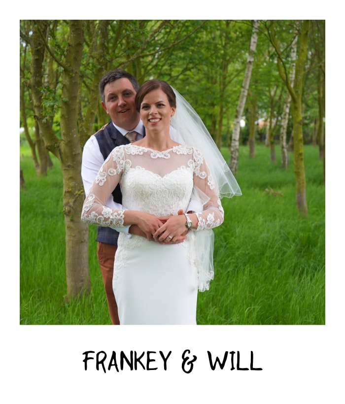 Frankey & Will at rustic weeding venue in nottingham